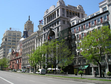 Hotels in the Chamberi District of Madrid