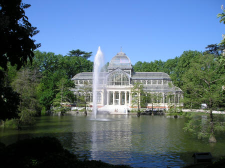 Crystal Palace, Madrid Spain