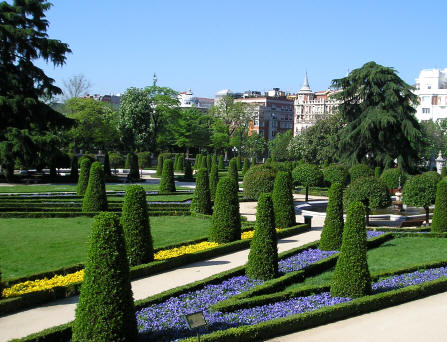 Retiro Park, Madrid, Spain Stock Photo, Picture And Royalty Free ...